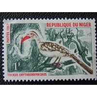 Нигер 1967г. Фауна.