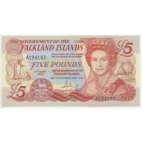 Фоклендские острова (Falkland Islands) P12 5 Pounds UNC