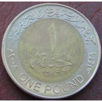 3983: 1 фунт 2008 Египет