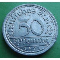 Германия. 50 пфеннигов 1921. Много лотов в продаже.