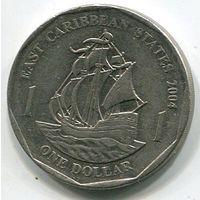 ВОСТОЧНО КАРИБСКИЕ ШТАТЫ - ДОЛЛАР 2004