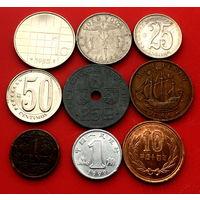 9 монет без повторов #9-105