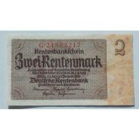 Германия 2 рентен.марки образца 1923