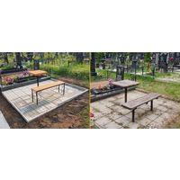 Строительные Работы на кладбище- благоустройство могил