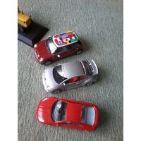 Автомобили разных масштабов