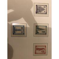 ГЕРМАНИЯ. ФРАНЦУЗСКАЯ ЗОНА. БАДЕН. 1949. Mi# 38-41 A. Полная серия. MNH Люкс