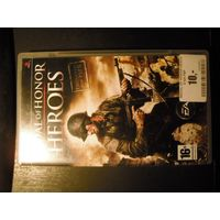 Medal of Honor Heroes PSP диск