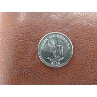 100 шиллингов 2008 Уганда