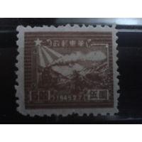 Китай 1949 паровоз