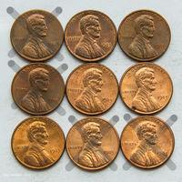 1 цент США 1983. Поштучно