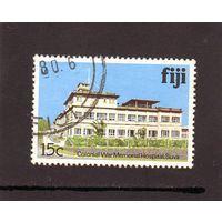 Фиджи. Ми-406I. Памятник колониальной войны. о.Сува. 1979.