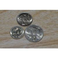 Кипр 1,2 и 5 центов