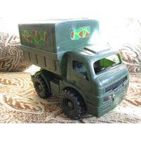 Машинка военная с фургоном