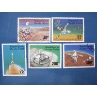 Космос 1976 (Республика Верхняя Вольта) 6 марок ПОЛНАЯ СЕРИЯ