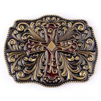 Пряжка металлическая с крестом. распродажа