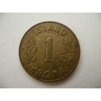 1 крона 1971 Исландия