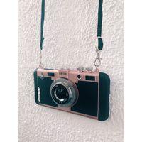 Чехол накладка (бампер) Фотоаппарат для iPhone 8 Plus