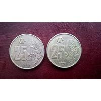 Турция 25.000 лир, 1997г