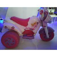 Мотоцикл для девочки Barbie, PEG-PEREGO