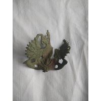 Царская кокарда орел на трубах(почтовая)