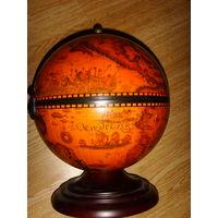 Шкатулка - глобус интерьерная . 30 см.