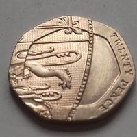 20 пенсов, Великобритания 2010 г.