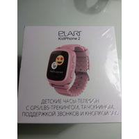 Часы-телефон с GPS Elari KidPhone 2. детские розовые