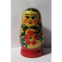 Матрёшка-сувенир,СССР,нач ало 80-х