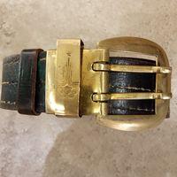Ремень кожаный Олимпиада 80