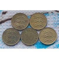 Эстония 10 центов