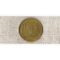 Саарленд Германия 20 франков 1954 //(Ок)