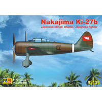 Nakajima Ki-27b (Decals for Thailand and China) RS-models 92139 1/72