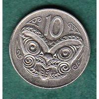НОВАЯ ЗЕЛАНДИЯ 10 центов / 1 шиллинг 1980  год