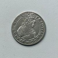 Монета Орт 1/4 талера 1684 г. (Пруссия) Фридрих Вильгельм РЕДКИЙ Идеальный
