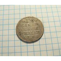 "1/12 талера 1764 ""B"" Бреслау. Пруссия"