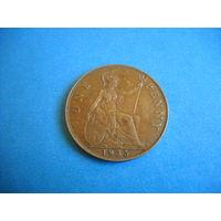 Великобритания 1 пенни 1935 г.