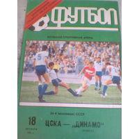 18.10.1991 ЦСКА Москва--Динамо Минск