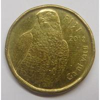 Фиджи 2 доллара 2012 г Фауна
