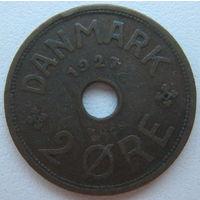Дания 2 эре 1927 г.