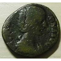 Dupondius. Julia Domna 194 A.D. 30 mm
