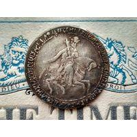 Монета РИ, 1 рубль 1654.