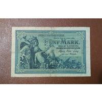 Германия / 5 mark / 1904 год / Ro-22 (a) / 6 цифр в номере