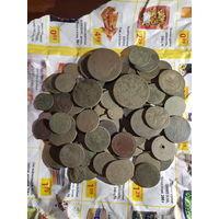 Монеты РИ 86 шт с рубля