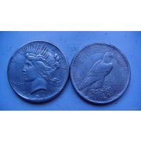 США 1 доллар 1921г. (копия) распродажа