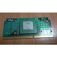 Ретро-процессор Intel Celeron-300A под Slot1 (Slot-1): 300A/66 SL2WM (цена без кулера). (возможен разгон до 450MHz на шине 100). =Рабочий=