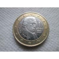 1 евро, Австрия 2008 г.