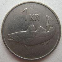 Исландия 1 крона 1981 г. (g)