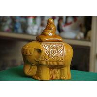 """Статуэтка """" Слон - емкость для чая """""""