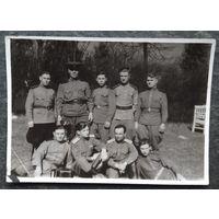 Фото группы военных. 1950-е. 8.5х12 см.