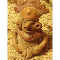 Тарракотовая фигурка.статуэтка. Ацтеков Майя.